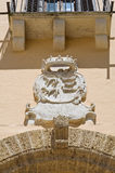 Ducal palace. Taurisano. Puglia. Italy. Stock Image