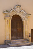 Ducal palace. Taurisano. Puglia. Italy. Stock Images