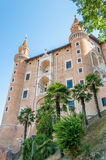 The Ducal Palace of Urbino Stock Images