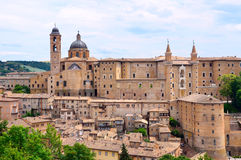 Ducal Palace. In Urbino,Italy Stock Photos