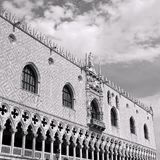 Ducal Palace in Venetian-style architecture in Venice. In Italy Royalty Free Stock Photo