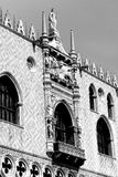 Ducal Palace in venice in italy Stock Image