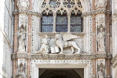 Ducal Palace in Venice, Italy Stock Photos