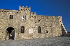 Ducal Palast. Bovino. Foggia. Apulia. lizenzfreie stockfotos