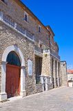 Ducal Palast Pietragalla Basilikata Italien Lizenzfreie Stockfotos