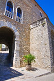 Ducal Palast Pietragalla Basilikata Italien stockfoto