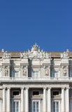 Ducal slott i Genoa, Italien Arkivfoto
