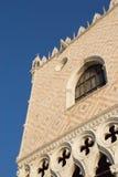 Ducal slott i Venedig (Italien) Arkivbilder