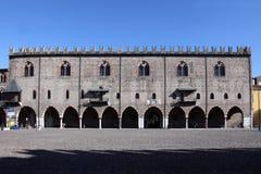 Ducal slott mantova Royaltyfri Fotografi