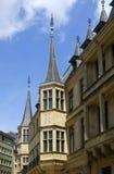 ducal storslagen luxembourg slott Arkivfoto