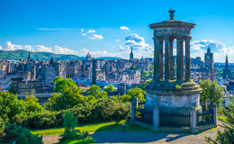 Ducald Stewart Monument royalty free stock photography