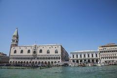 ducale意大利palazzo威尼斯 库存照片