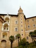 Ducale di Palazzo a Urbino Fotografia Stock