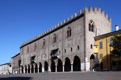 Ducale Mantova di Palazzo Fotografia Stock