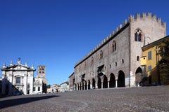 Ducale Mantova di Palazzo Fotografia Stock Libera da Diritti