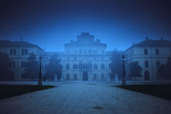 Ducale palace in the noght in Parma Stock Photo