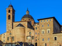 Urbino - Ducale Palace Stock Images