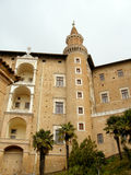 ducale palazzo乌尔比诺 图库摄影