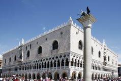 ducaleitaly palazzo venice Royaltyfri Foto