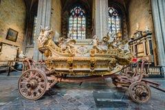 Ducasse De Mons ou Doudou à Mons, Belgique Photo stock