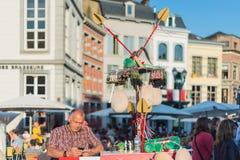 Ducasse De Mons ou Doudou à Mons, Belgique Photo libre de droits
