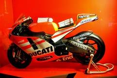 ducati意大利摩托车 库存图片