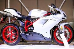 Ducati摩托车848evo 库存图片