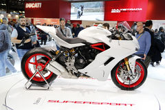 Ducati 1299 παγκόσμια πρεμιέρα 2016 superlsport Στοκ εικόνα με δικαίωμα ελεύθερης χρήσης