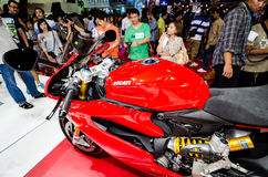 Ducati στη έκθεση αυτοκινήτου της Ταϊλάνδης. Στοκ φωτογραφία με δικαίωμα ελεύθερης χρήσης