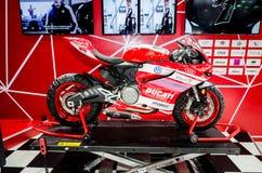 Ducati στη έκθεση αυτοκινήτου της Ταϊλάνδης. Στοκ Εικόνες