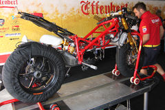 Ducati 1098R Effenbert Liberty without engine Stock Photo