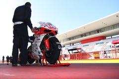 Ducati 1198R - Barni Racing - Superstock Royalty Free Stock Photography