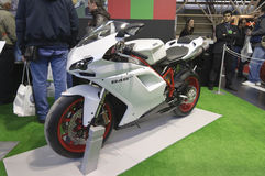 Ducati 848 EVO Royalty Free Stock Photos