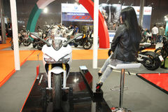 Ducati at Belgrade Car Show Royalty Free Stock Images