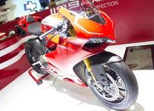 Ducati 1199 de Motorfiets van Panigale R. Royalty-vrije Stock Afbeeldingen