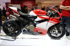 Ducati 1299 de première 2016 van de superleggerawereld Royalty-vrije Stock Fotografie