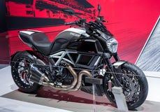 Ducati Diavel Στοκ φωτογραφίες με δικαίωμα ελεύθερης χρήσης