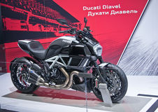 Ducati Diavel Stock Photo