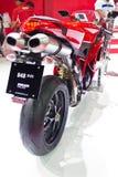 Ducati 848 EVO-Motorfiets. Stock Fotografie