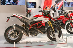 Ducati Hypermotard on display Royalty Free Stock Photo