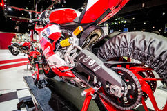Ducati i Thailand den motoriska showen. Fotografering för Bildbyråer