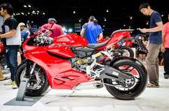 Ducati 899 i Thailand den motoriska showen. Royaltyfria Bilder