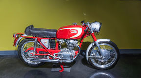 1965 Ducati 250 mach 1 motercycle Royalty Free Stock Image