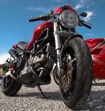 Ducati monster Royalty Free Stock Photos