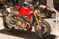 Ducati monster 1200 Arkivfoton
