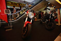 Ducati monster Royaltyfri Bild