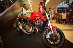 Ducati monster Royaltyfria Bilder