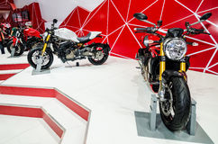 Ducati Monster in Thailand motor show. Royalty Free Stock Photos