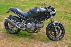 Ducati monstermotorcykel Royaltyfria Foton