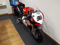Ducati moto. Store Royalty Free Stock Image
